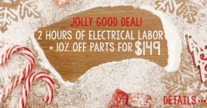 Electrical labor coupon