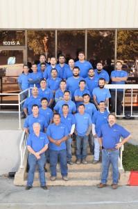 Construction group photo