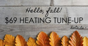 Heating tune-up special