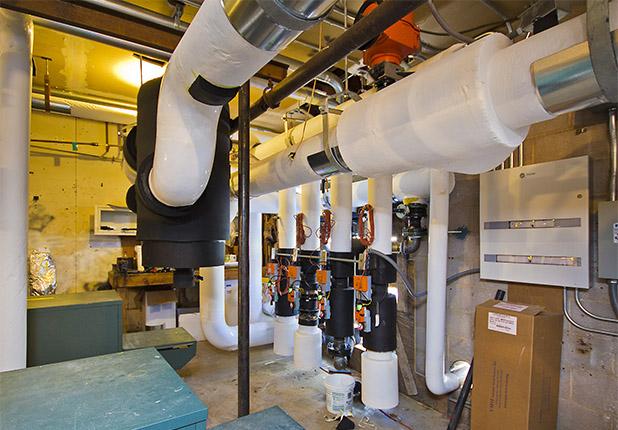 Fairway Village plumbing unit control center